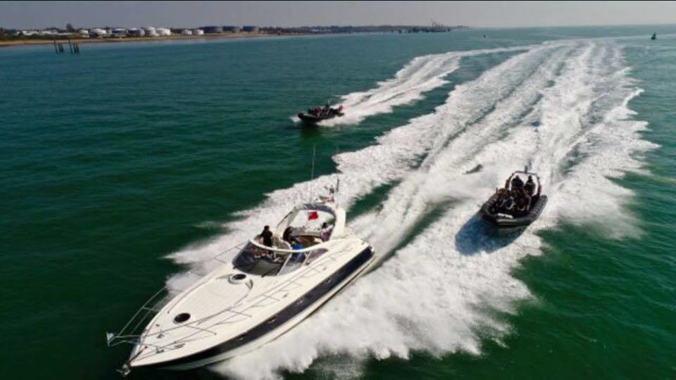 SPECIAL OFFER  - FAIRLINE TARGA 43 ISLE OF WIGHT CRUISE