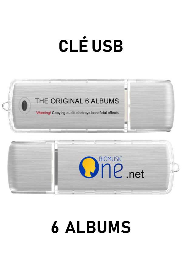 Bio Music - Pack 6 Albums USB