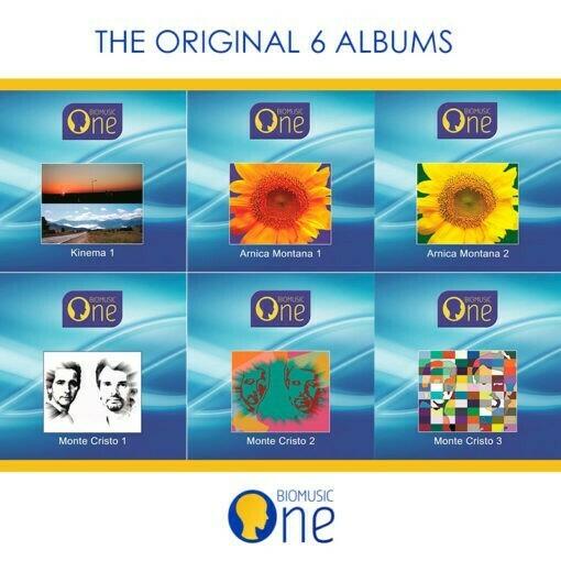 Bio Music - Pack 6 Albums CD