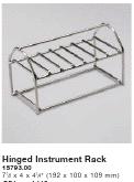 HYDRIM Hinged Instrument Rack