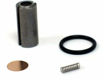Solenoid valve plunger repair kit