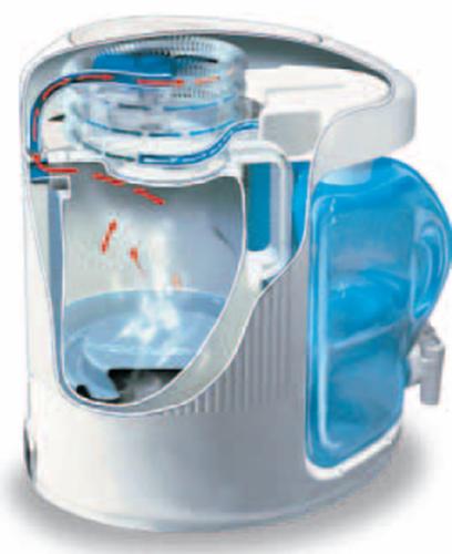AquaStat Replacement 4L Reservoir - clear with spigot