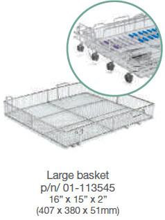 HYDRIM C61 Basket Rack trolley central support