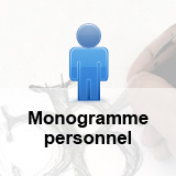 Création d'un monogramme personnel