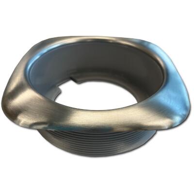 10-3425-01, PVC, VALVE CUP BEZEL, BR SS, GREY