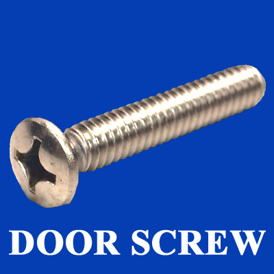25-1395, HRD, SCREW, 1/4-20 X 1.5 PH OVAL SS