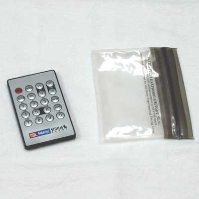 75-1390, Stereo, IR Remote w/Bag, 2008-Present