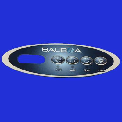 65-1135, Control, Overlay, Pad, Basic, 1 Pump, 2004-2005