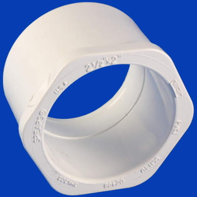 10-1665, PVC, BUSH, 2-1/2
