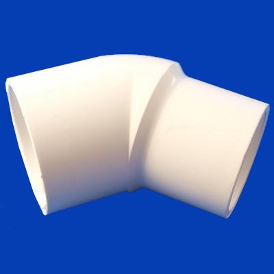 10-3435, PVC, ELL, 45, 1-1/2