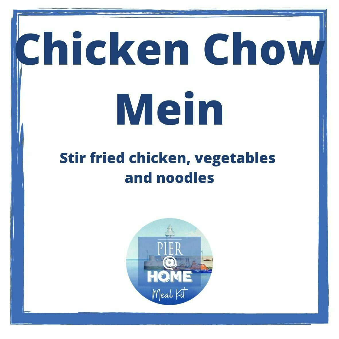 Chicken Chow Mein (for 2)