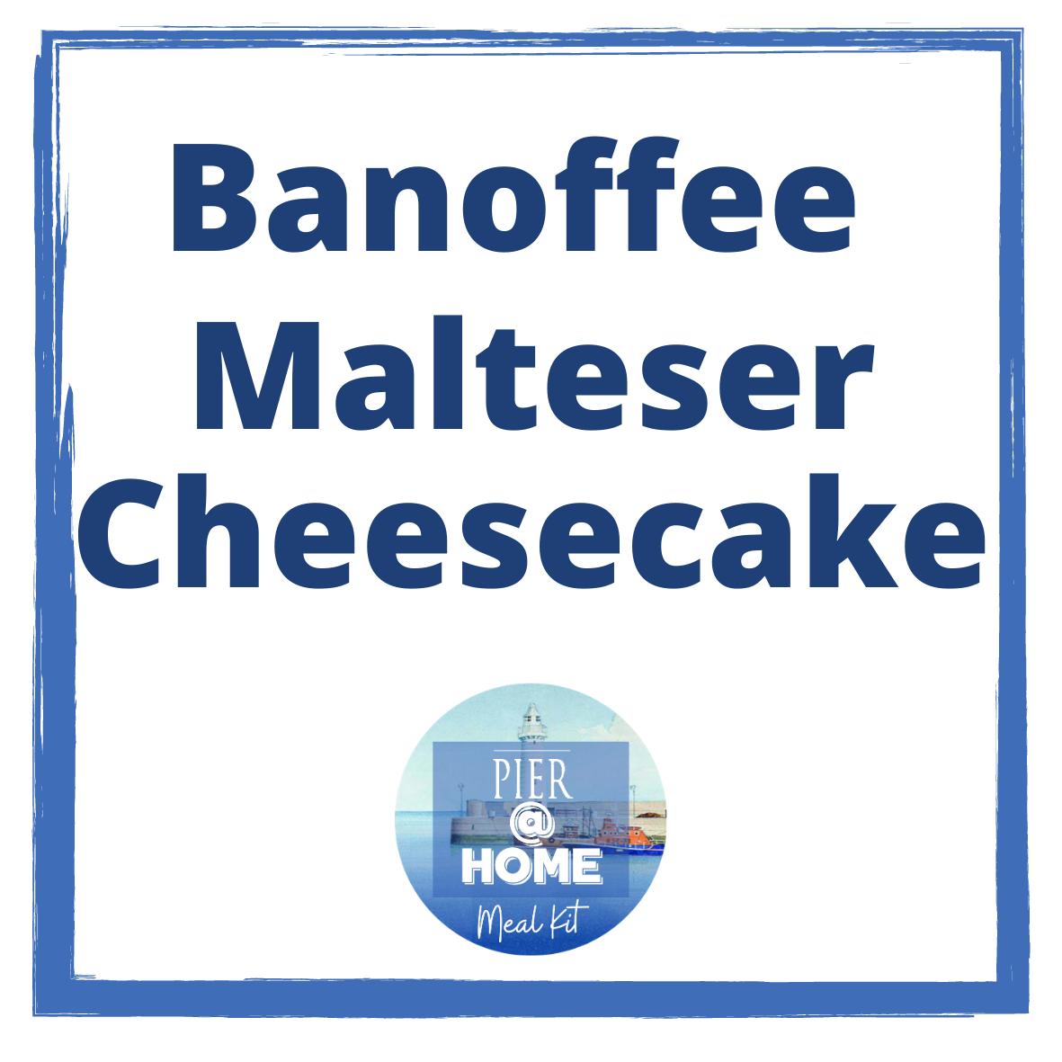 Banoffee Malteser Cheesecake