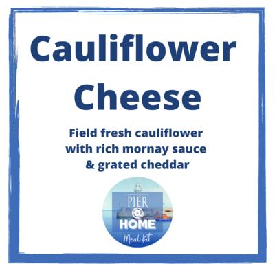 SIDE DISH Cauliflower cheese
