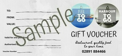Pier TOGO take away Voucher