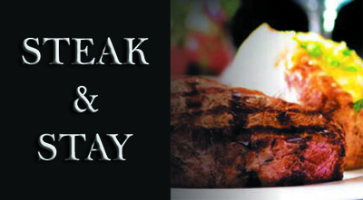 Steak and Stay, Standard room (Special gift rate)