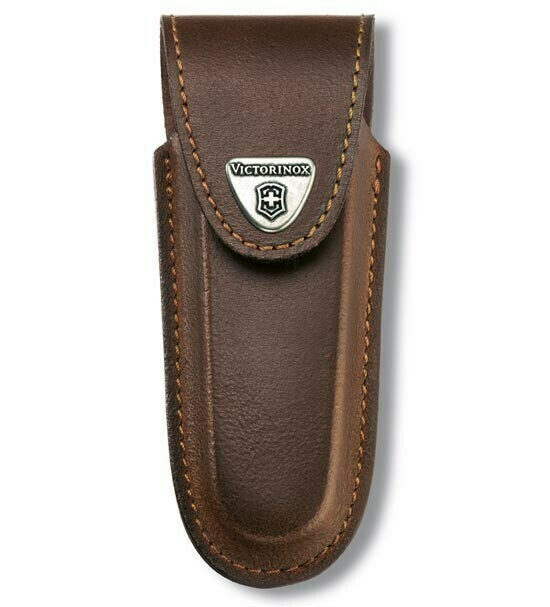 Чехол Victorinox для ножа 111 мм (4.0537) кожаный