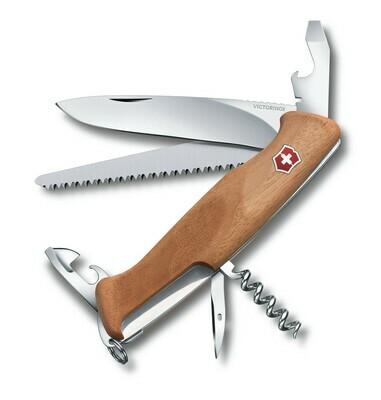Нож Victorinox RangerWood 55, 130 мм, дерево (0.9561.63)