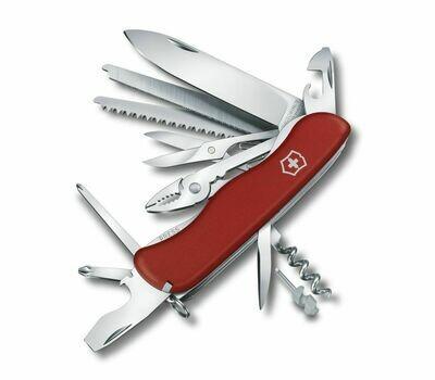 Нож Victorinox Work Champ 2017, красный, 111 мм., (0.8564)