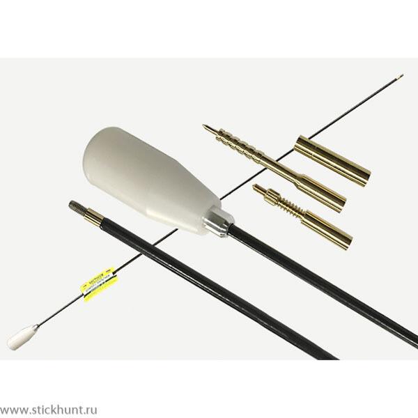 Шомпол в оплетке кал. .22-.26, кроме CZ.22lr ЧИСТОGUN CH-22C-90 d=5 мм, L=90см, сталь