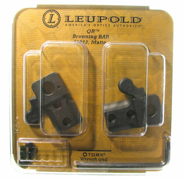 Основание Leupold ( из двух частей) для б/с кр. Browning Bar/Benelli Argo