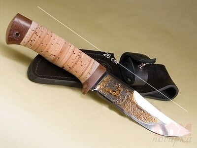 Нож Марал (орех)