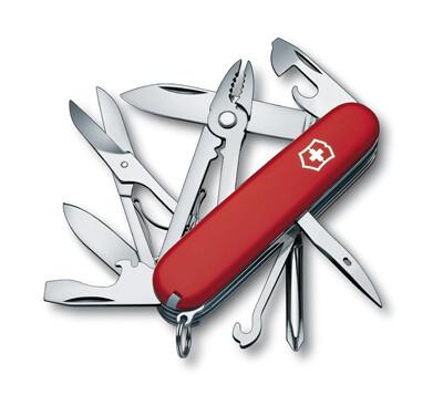 Нож Victorinox Deluxe Tinker, 91 мм, 17 функций, красный 1.4723