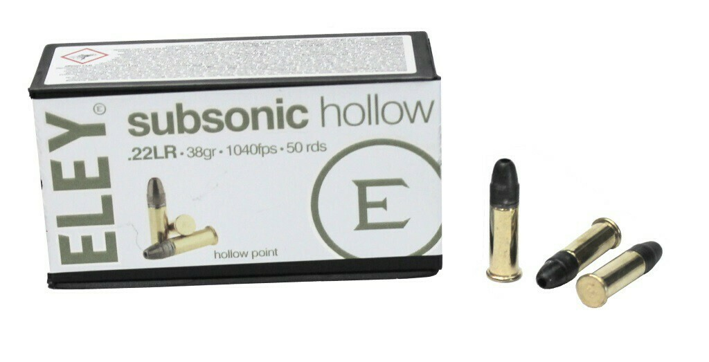 .22LR SUBSONIC HOLLOW ELEY (50шт)