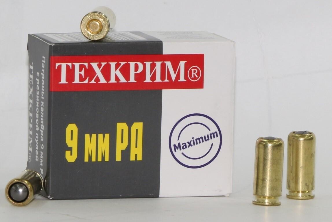 Патрон 9мм РА 91 ДЖ (Техкрим) (20 шт.),