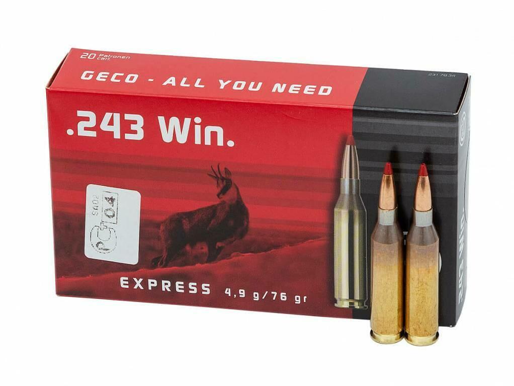 243 Win Geco TM SP Express 4,9гр п/о 2317834