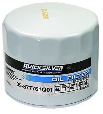 Масляный фильтр для MERCURY F75-115/150 EFI @12 OEM: 35-877761K01, 18-7758 (Quicksilver)