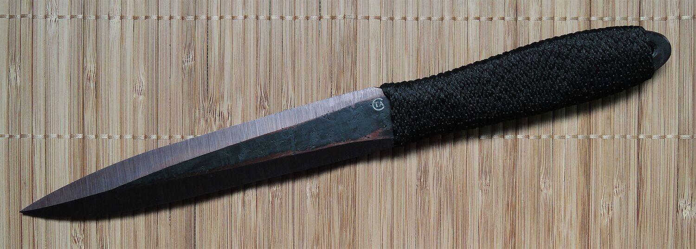 """Нож """"Юст-1"""" 30ХГСА, тройной комплект, веревка,"""