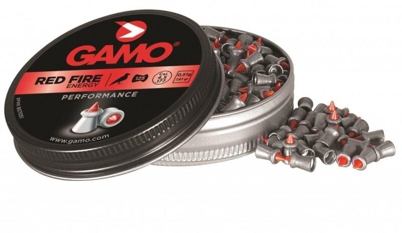 Пули Gamo Red Fire 4.5мм. (125шт.),