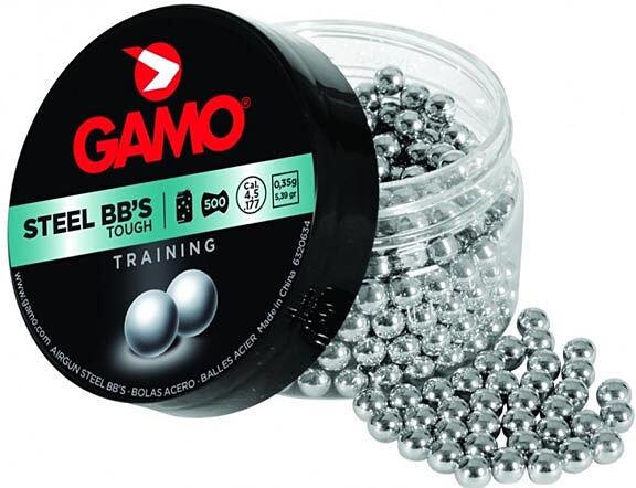 Шарики стальные Gamo BB S 4,5 (500шт.),