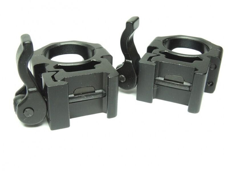 Кольца Leapers (RQ2W1154) 26мм., б/с, Weaver с винтовым зажимом, средние,
