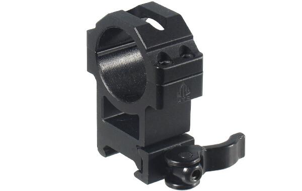 Кольца Leapers (RQ2W3224) 30мм., б/с на Weaver с рычажным зажимом, высокие,