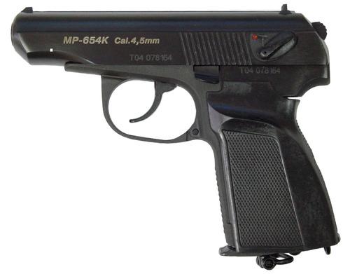Пистолет пневматический газобалонный МР-654К-20 с обн. ручк.