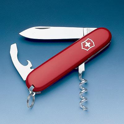 Нож Victorinox Waiter, 84 мм, 9 функций, красный (0.3303)
