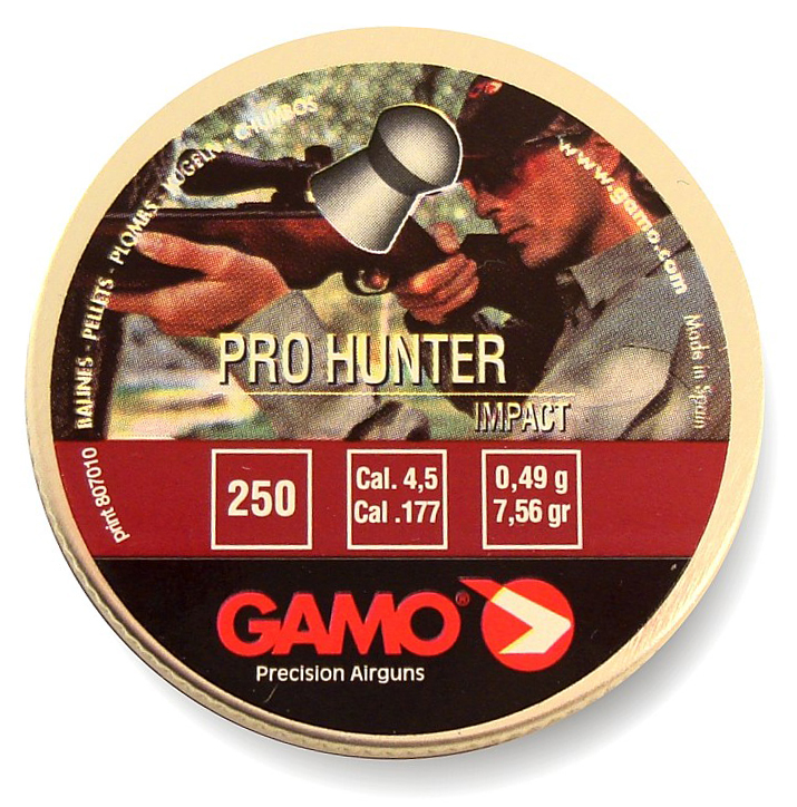 GAMO Pro-Hunter, 4,5 мм, 250 шт.
