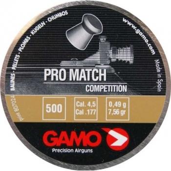 GAMO Pro Match, 4,5 мм, 500 шт.