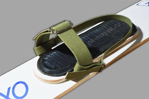 Крепление для лыж брезент (носковой и пяточный ремень)