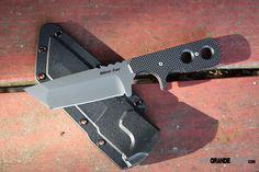 Нож Cold Steel модель 49HTF Mini Tac Tanto AUS-8A рук. G10