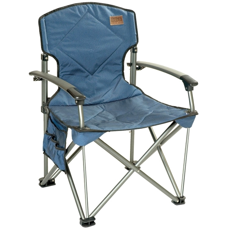 Элитное, складное кресло Dreamer Chair blue
