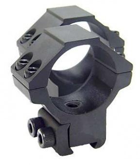 Кольца Leapers 30 мм на призму 10-12 мм, средние RGPM-30M4
