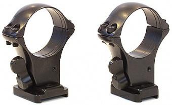 Быстросъемный кронштейн на раздельных основаниях Browning Bar II / Benelli Argo, кольца 30 мм, 5252-30003