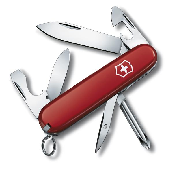 Нож Victorinox Tinker, 91 мм, 12 функций, красный 1.4603