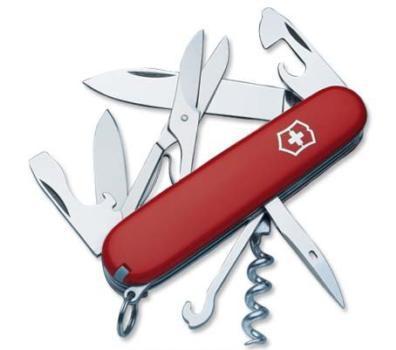 Нож Victorinox Climber, 91 мм, 14 функций, красный 1.3703