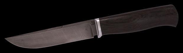 Нож Тигр дамаск/экзотика