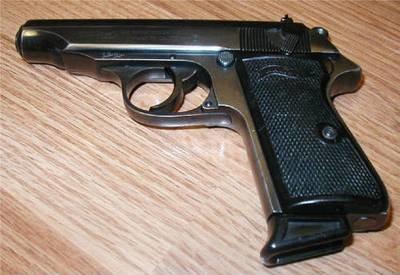 Газовый пистолет Walther PP,  калибр 9мм