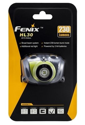 Fenix HL30 2015 XP-G2 с батарейками