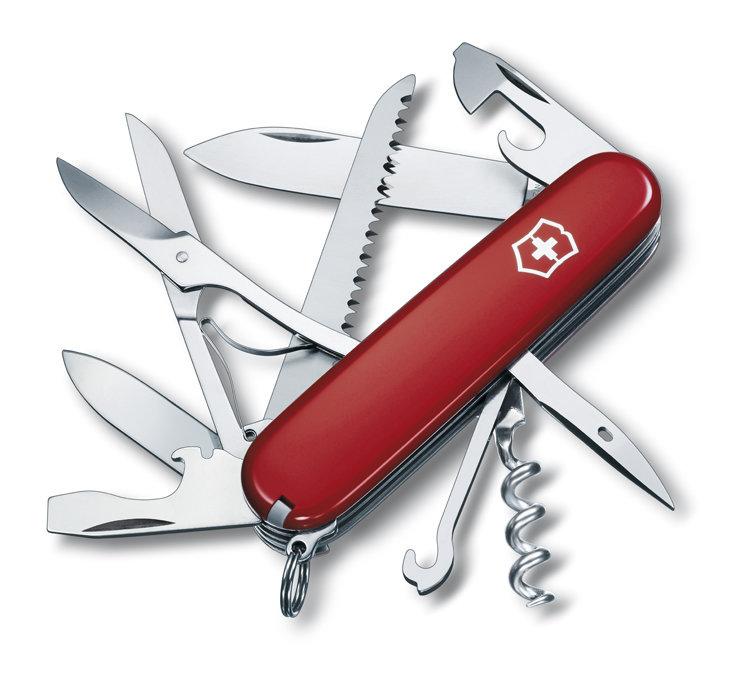 Нож Victorinox Huntsman, 91 мм, 15 функций, красный 1.3713